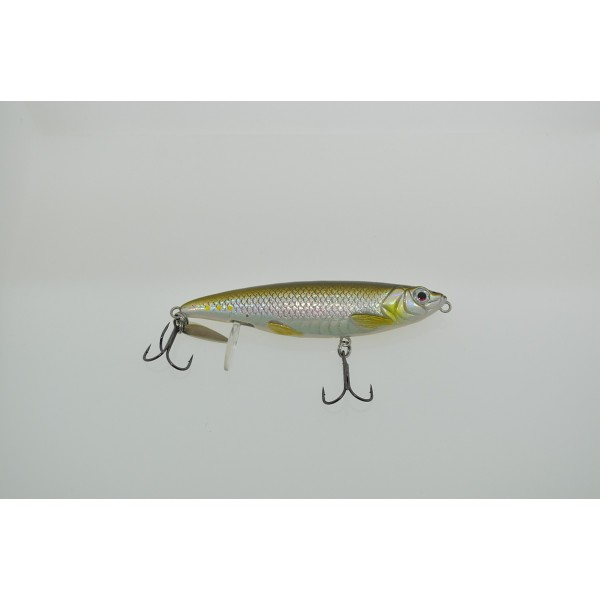 Savage Gear 100mm Backlip Herring Green Silver