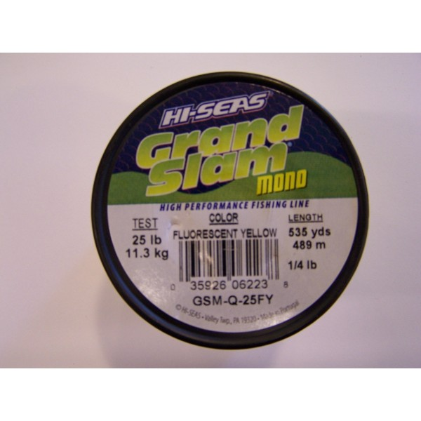 hi-seas grand slam 15-20-25 lbs