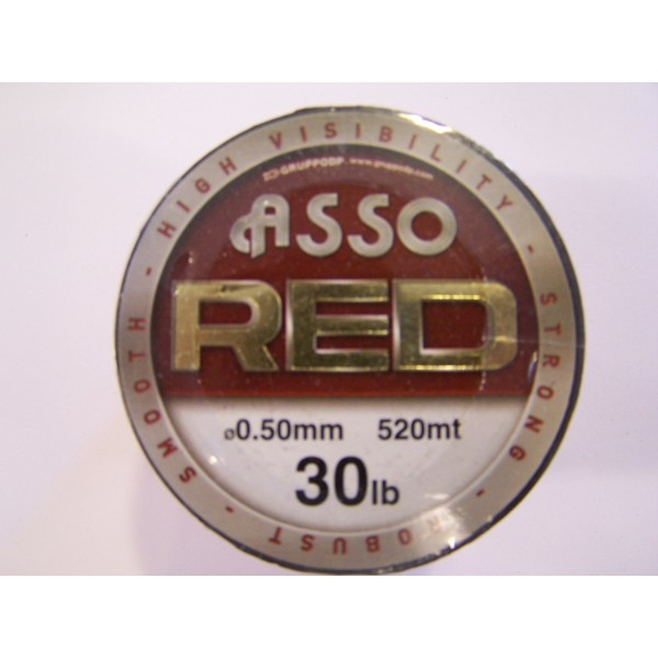 asso red 15-20-30 lbs